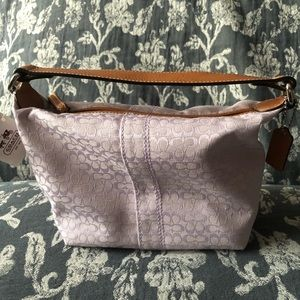 New Coach Soho Signature Top Handle Mini Handbag